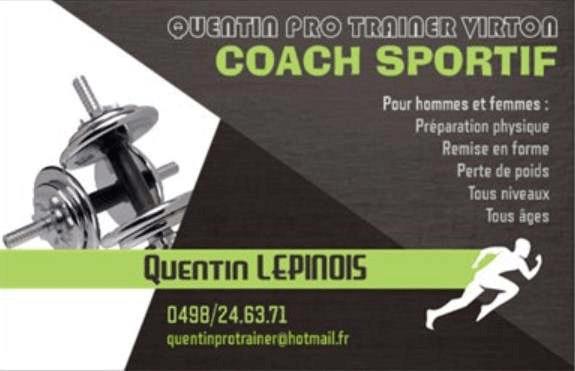 Coach sportif pour homme ou femme